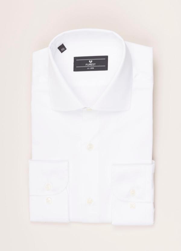 Camisa vestir FUREST COLECCIÓN REGULAR FIT twill blanco
