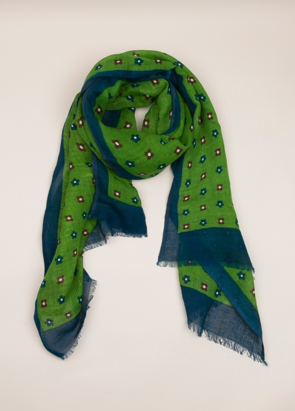 Foulard ALTEA dibujo verde