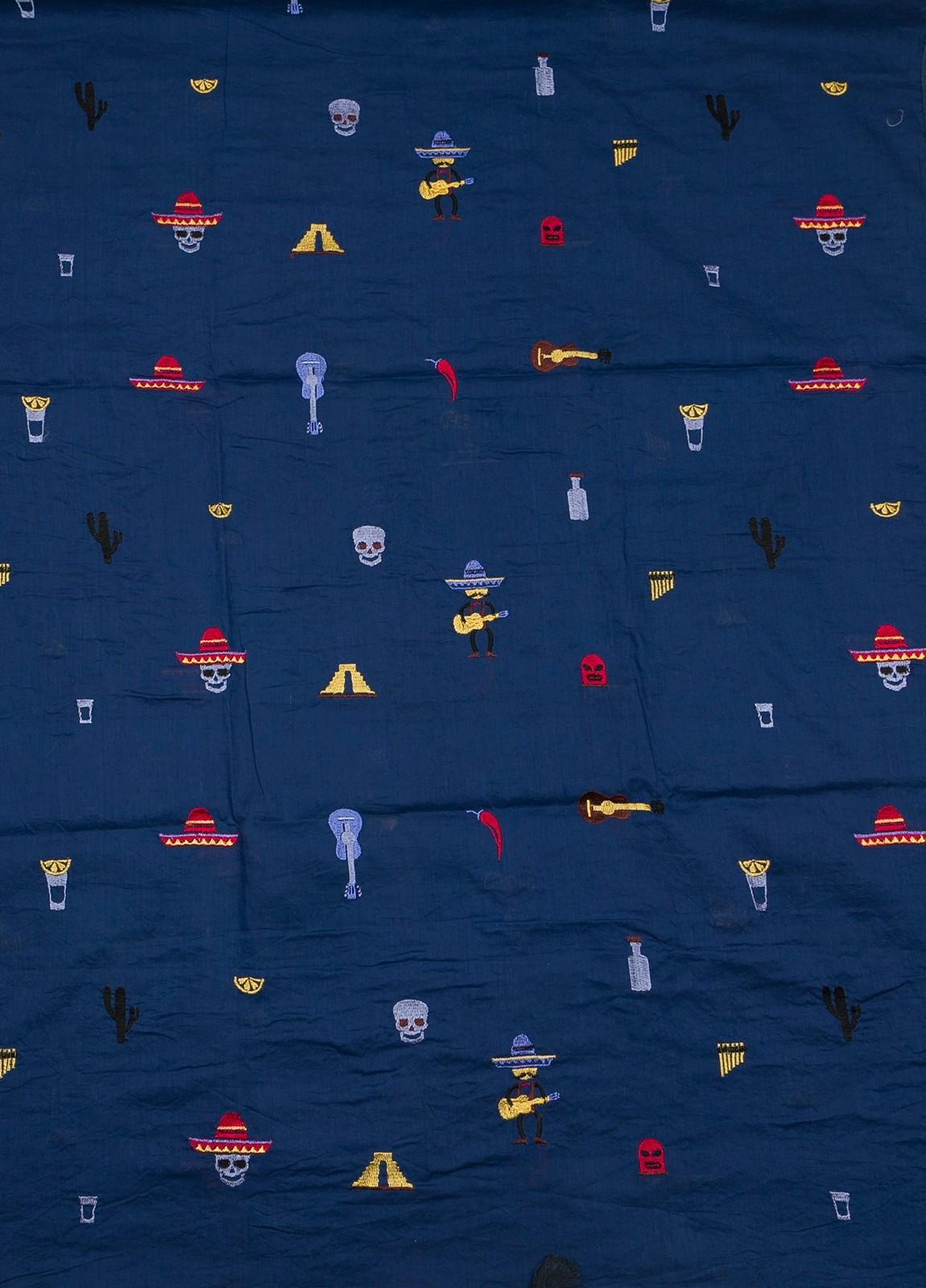 Foulard ALTEA estampado azul - Ítem1
