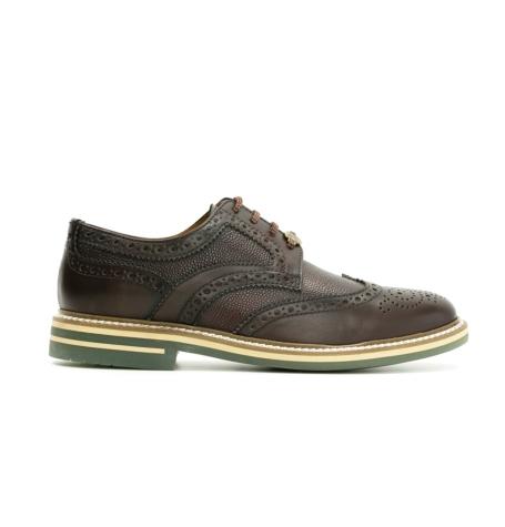 Zapato Formal Wear color marrón, 100% Piel.