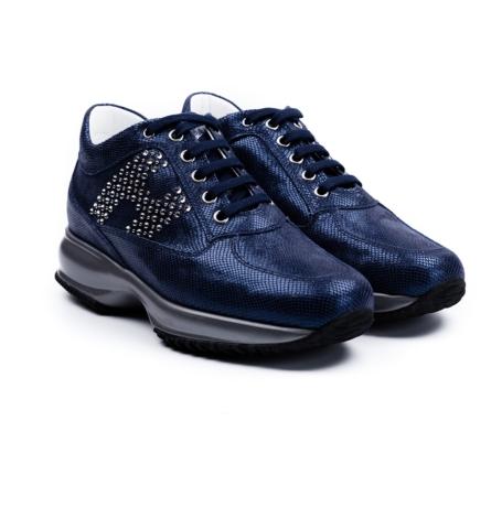 Calzado mujer modelo INTERACTIVE color azul marino, piel. - Ítem1
