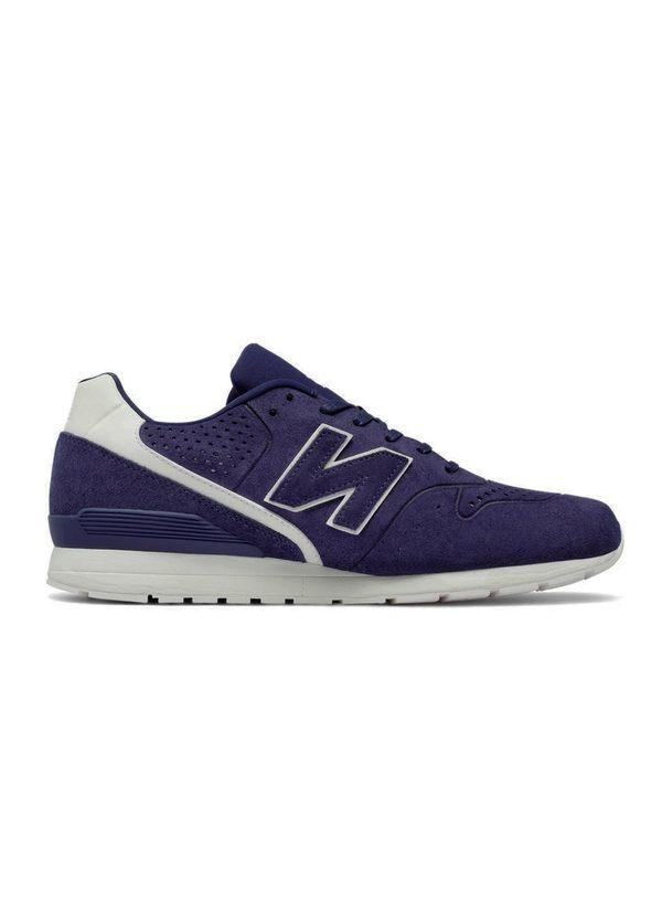 Sneaker MRL996 color azul marino, serraje.