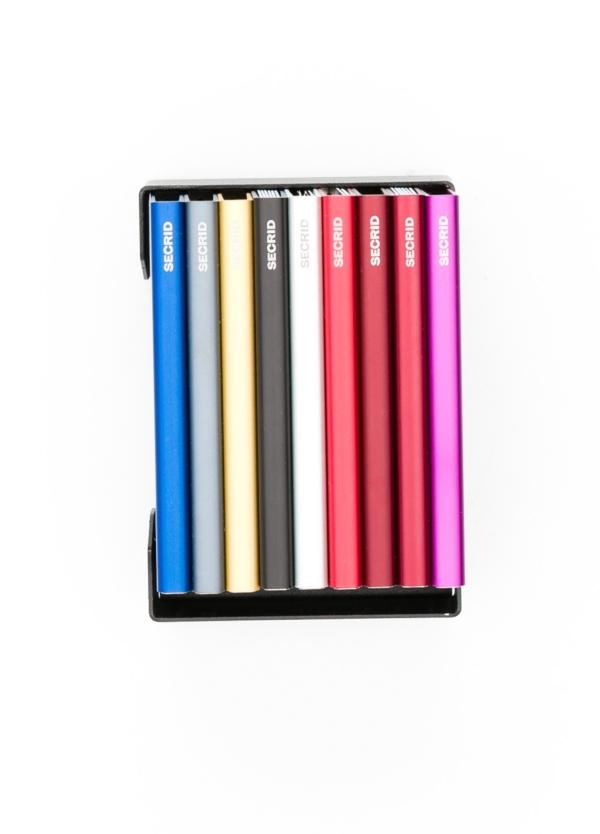 Secrid slim wallet con cardprotector de aluminio ultrafino, color burdeos - Ítem1