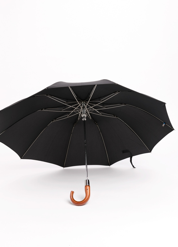 Paraguas FUREST COLECCIÓN plegable puño de madera.