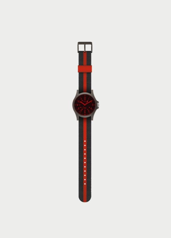 Correa Reloj TIMEX negro y rojo (la caja reloj se vende por separado)