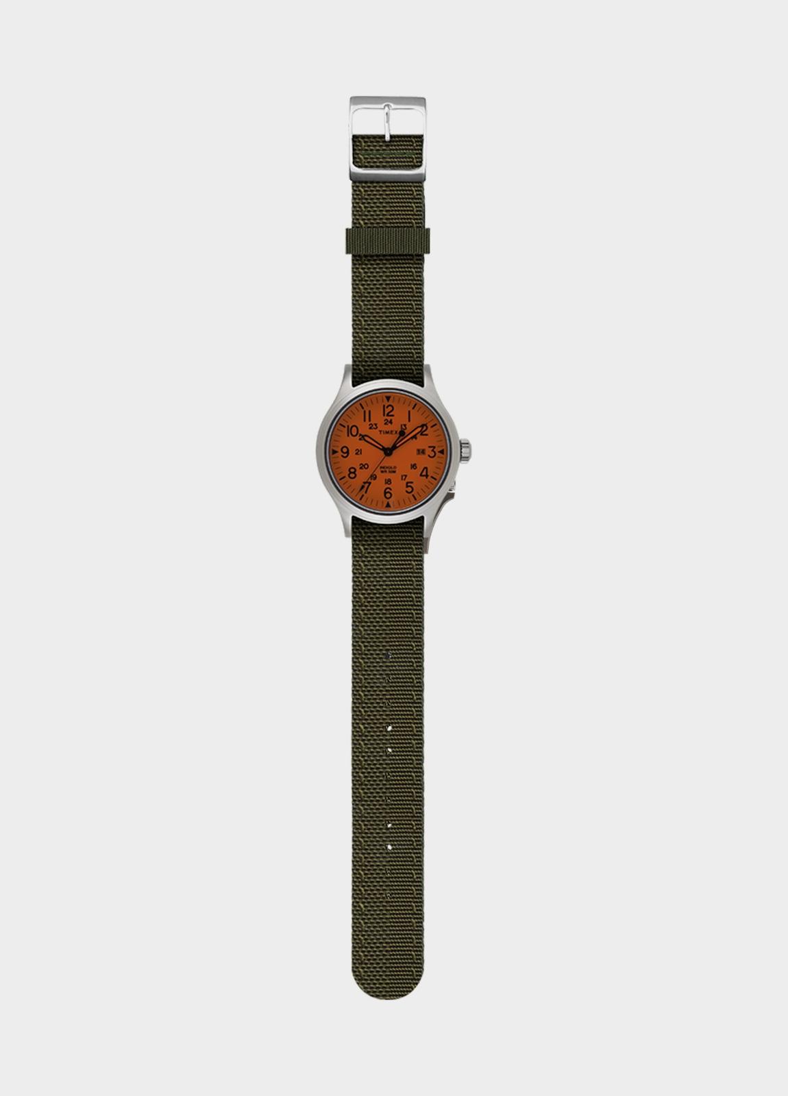 Correa Reloj TIMEX reversible naranja/ kaki (la caja reloj se vende por separado) - Ítem1
