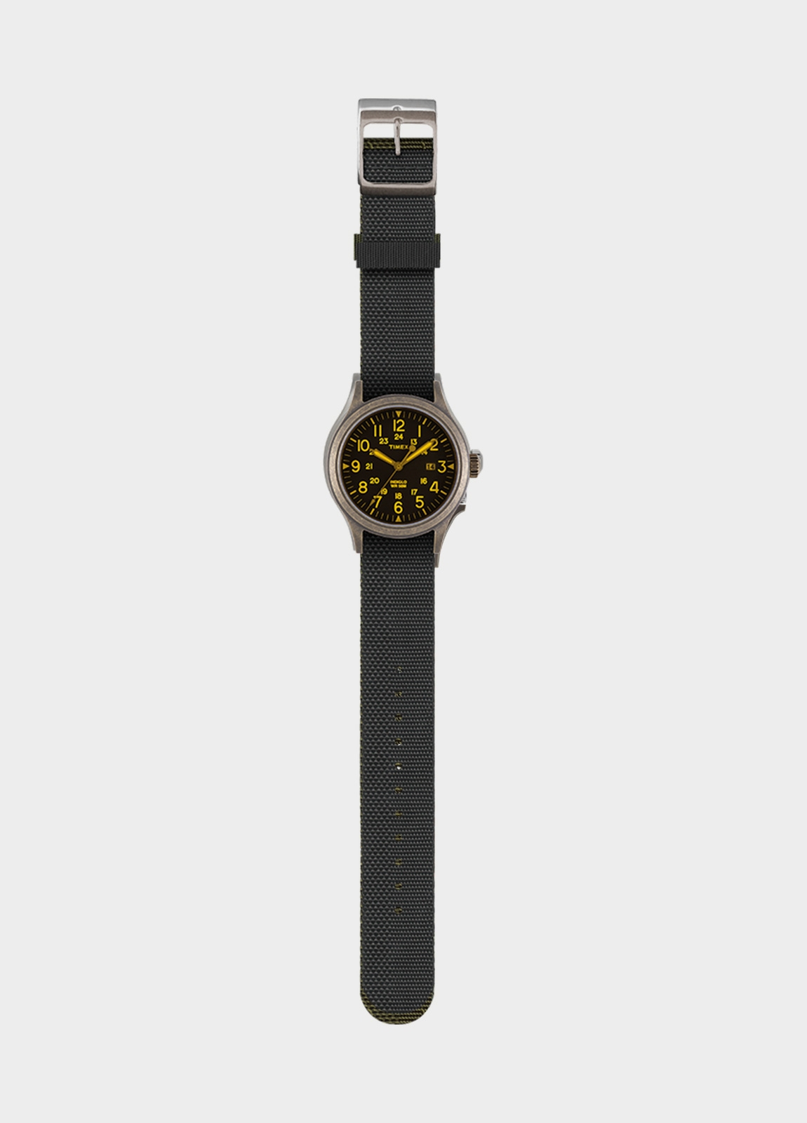 Correa Reloj TIMEX reversible negro/negro. (la caja reloj se vende por separado) - Ítem1