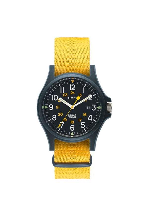 Reloj Timex amarillo
