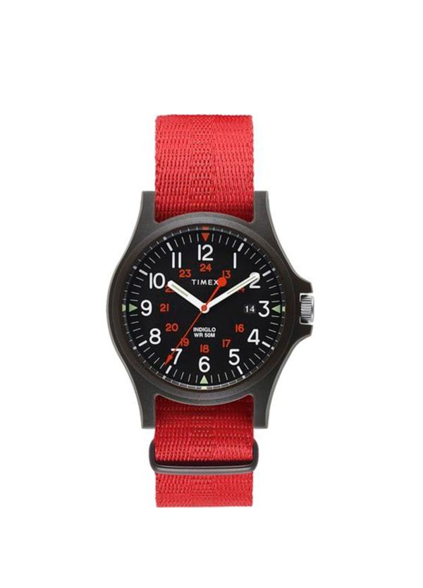 Reloj Timex rojo