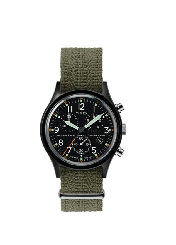 Reloj Timex kaki.