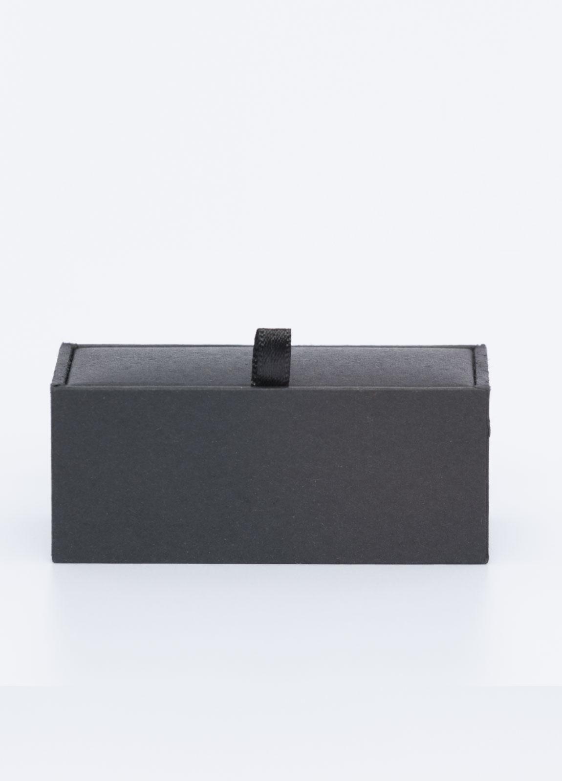 Gemelos FUREST COLECCIÓN piedra ónix negro - Ítem2