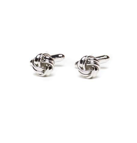 furest colección,gemelos acero conn forma anudada,13i20040273 - Ítem2