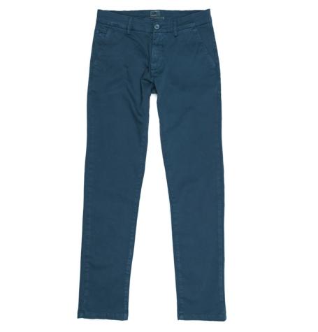 Pantalón Casual Wear, SLIM FIT micro textura color azulón, 97% Algodón 3% Elastómero.