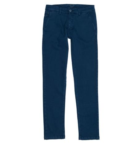 Pantalón Casual Wear, SLIM FIT micro textura color azul, 97% Algodón 3% Elastómero.