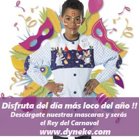 ¡El Carnaval ha llegado a DYNEKE!