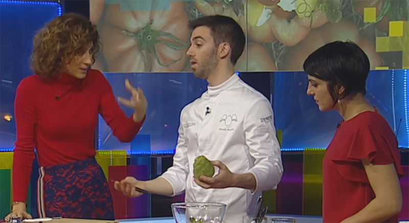 David Andrés supera el reto de los 3 ingredientes
