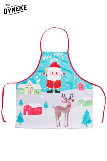 Delantal infantil 'Papa Noel'