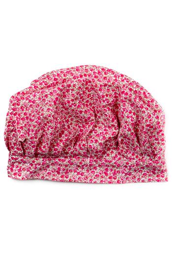 Pink Flowers Girls Chef Hat