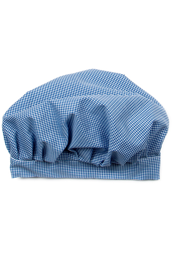 Blue Flowers Kids Chef Hat