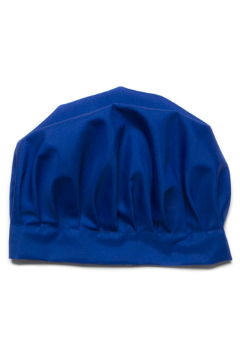 Gorro cocinero infantil azul