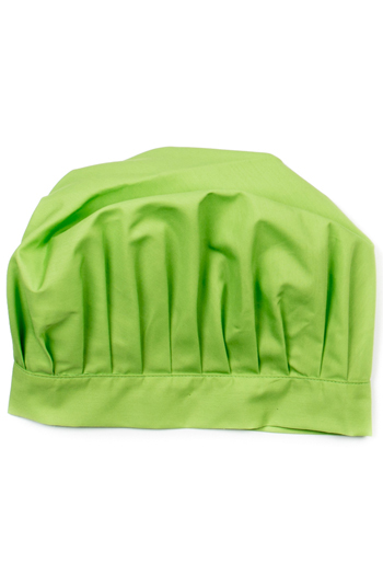 Green Kids Chef Hat