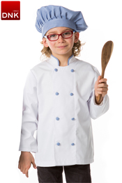 Chaqueta infantil cocinero