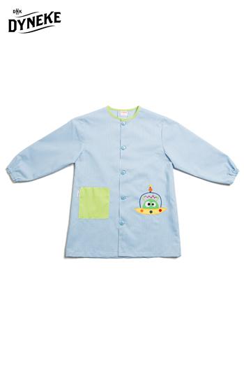 Bata infantil niño 'marciano' azul