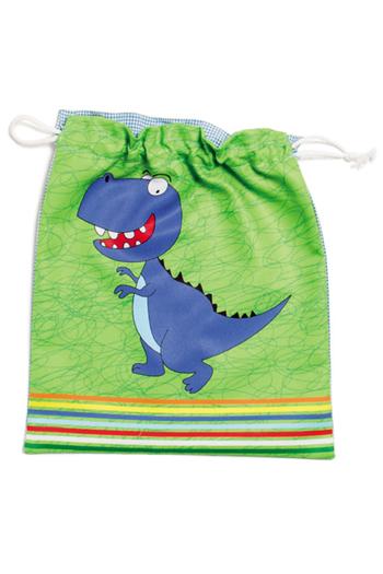 Bolsa merienda 'dinosaurio'