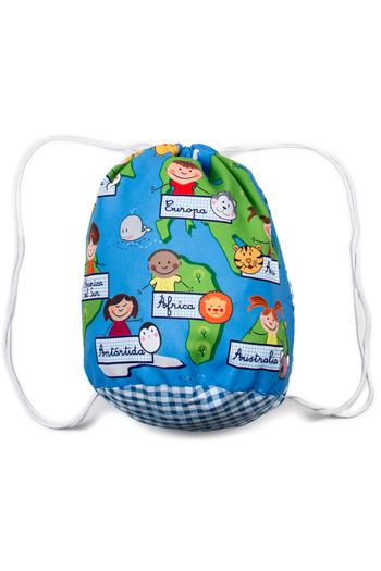 Petate infantil 'continentes'