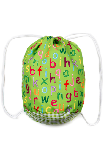 Letters Backpack School
