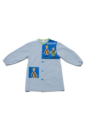 Bata infantil 'Desafio' azul