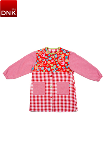 Cats Button School Smock
