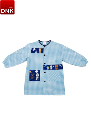 Galaxy Button School Smock