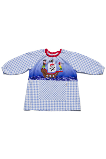 Pirates Preschool Smock