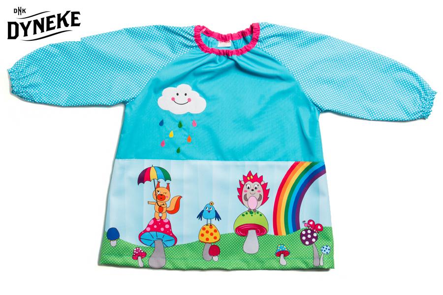 bata infantil con dibujo colorido babis infantiles para