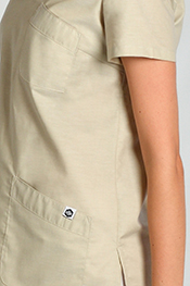 Health service tunic Mao collar