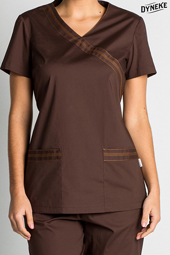 Casaca sanidad 'woman' marron