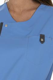 Casaca mujer microfibra azul