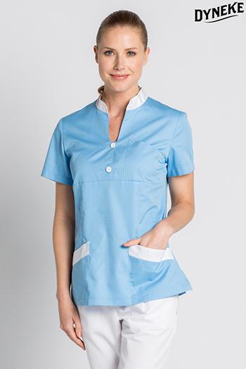 Blue scrub tunic