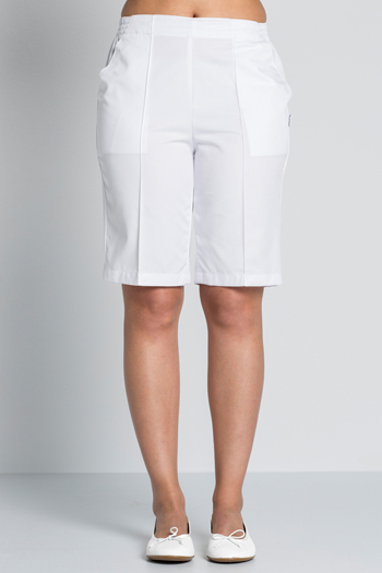 Men's white shorts.