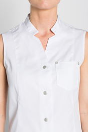 White tunic with Mao collar