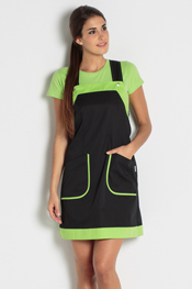 Black jumper dress multipurpose