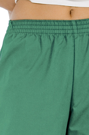 Green classic fit pants
