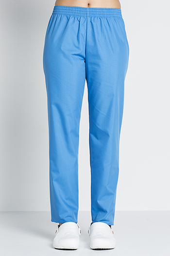 Royal blue classic fit pants