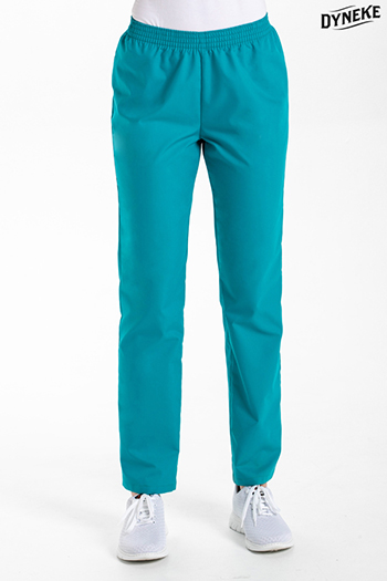 Marine blue classic fit pants
