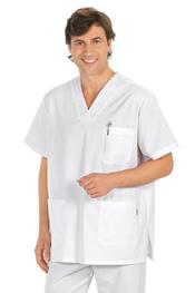 Blusón blanco sanidad