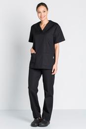 Chaqueta pijama negra
