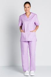 Chaqueta pijama malva claro