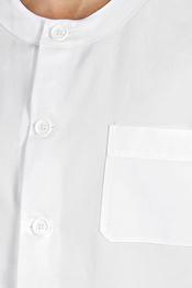 White tunic rounded neckline