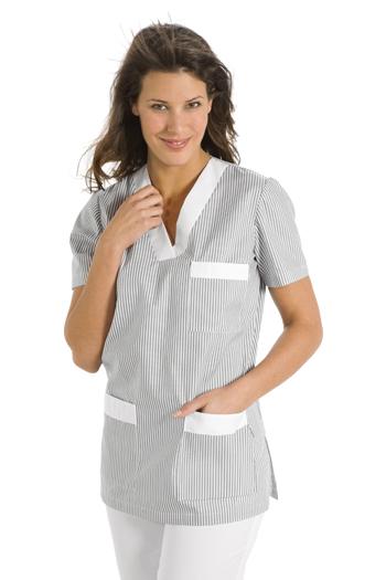 Chaqueta pijama clásico gris